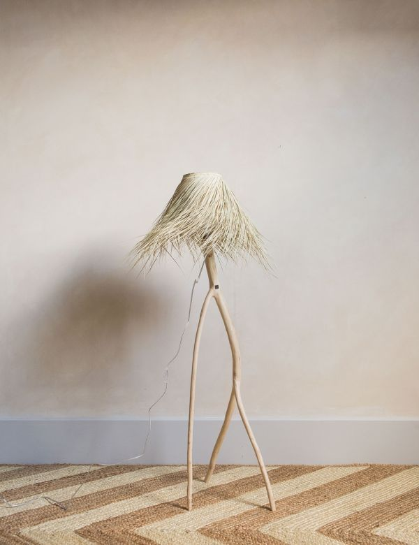 Palm & Branch Floor Lamp
