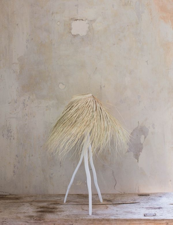 Palm & Branch Table Lamp
