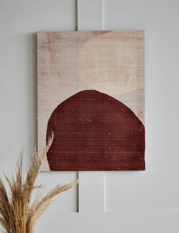 Recycled Silk Wall Art - Singular
