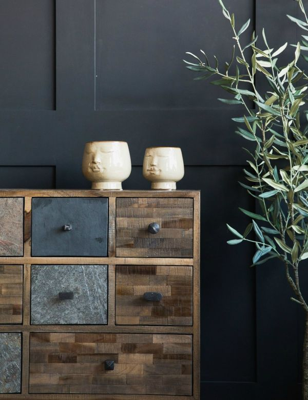 Recycled Teak Side Cabinet