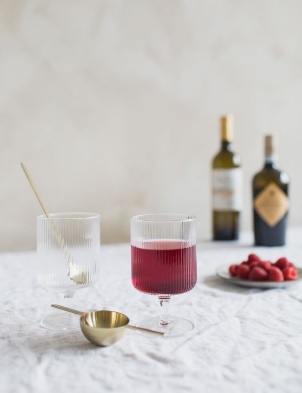 Ferm Living Ripple Wine Glasses - Set of Two