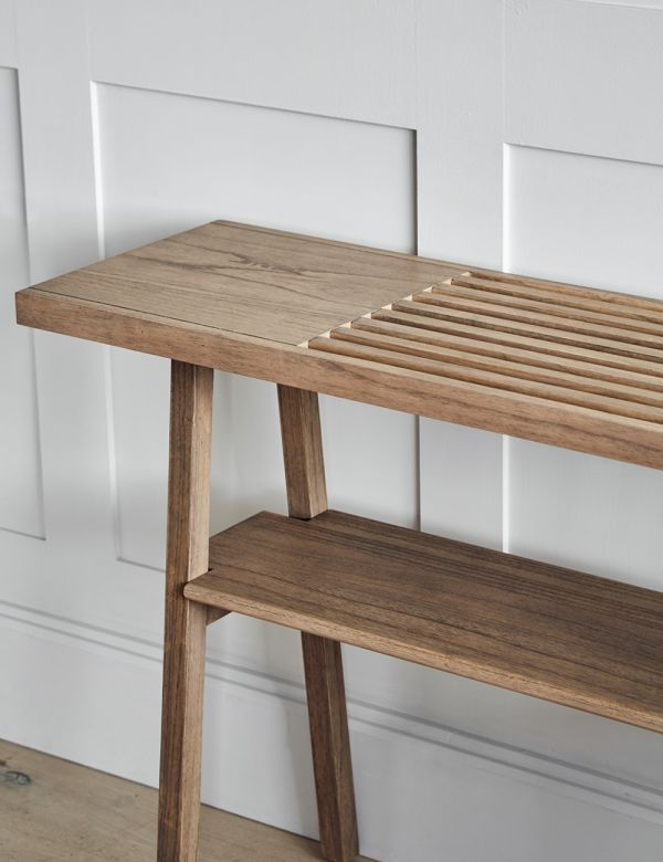 Sapporo Wooden Console Table