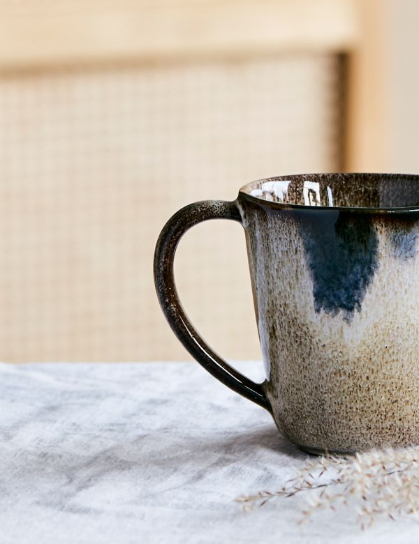 Shapes Stoneware Mug