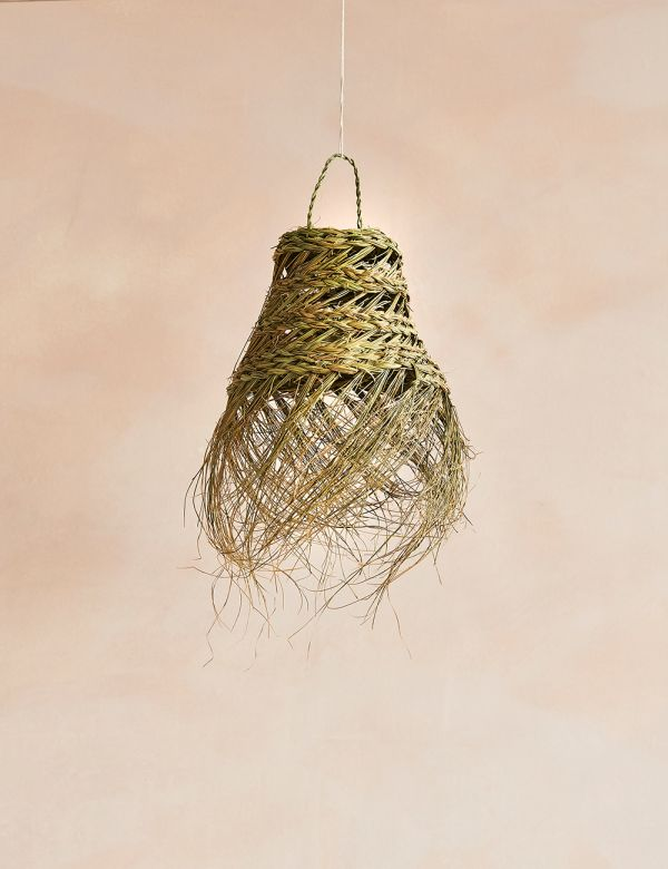 Small Palm Leaves Lamp Shade