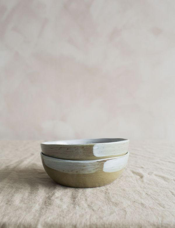 Splatter Ceramic Bowl