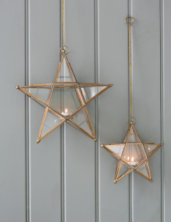 Glass Star Lantern