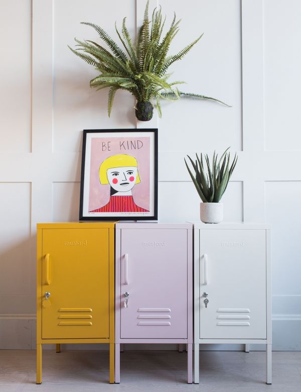 Mustard Made Lockers - The Shorty Short Locker - Blush Pink
