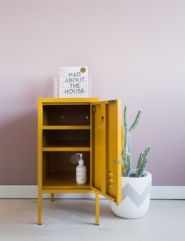 Mustard Made Lockers - The Shorty Short Locker - Mustard Yellow