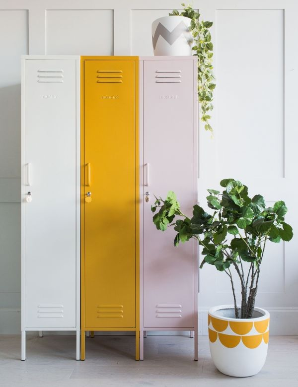 Mustard Made Lockers - The Skinny Tall Locker - Blush Pink