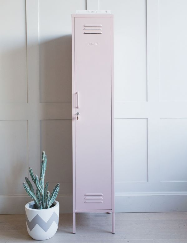 Mustard Made Lockers - The Skinny Tall Locker Blush Pink