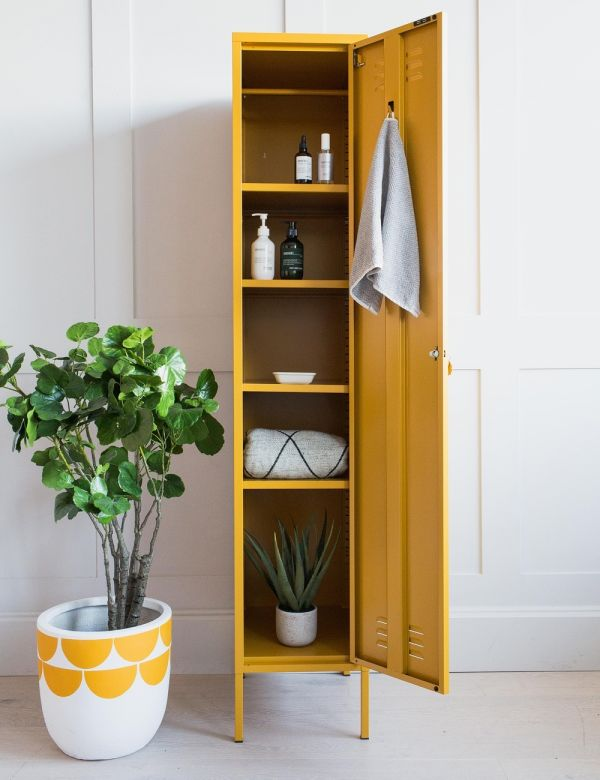 Mustard Made Lockers - The Skinny Tall Locker - Mustard Yellow