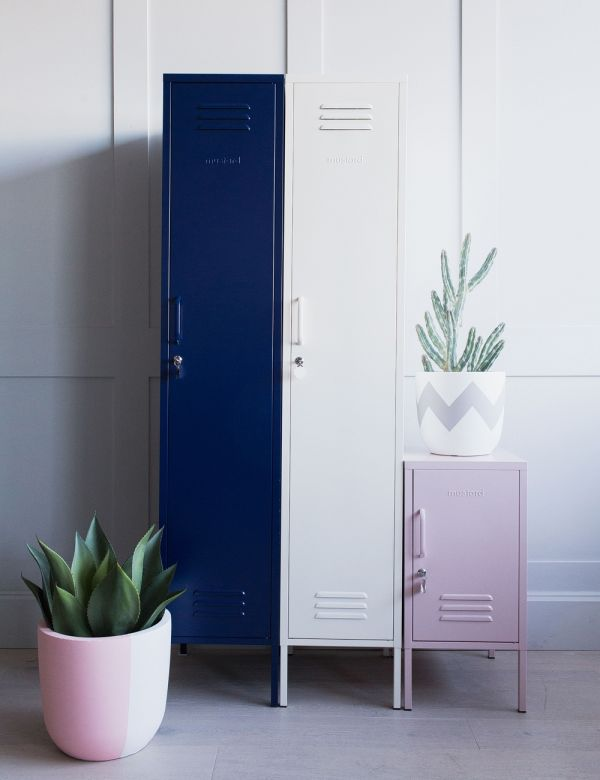 Mustard Made Lockers - The Skinny Tall Locker - Navy Blue