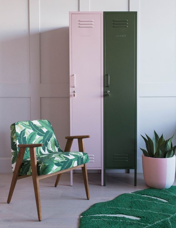 Mustard Made Lockers - The Skinny Tall Locker - Olive Green