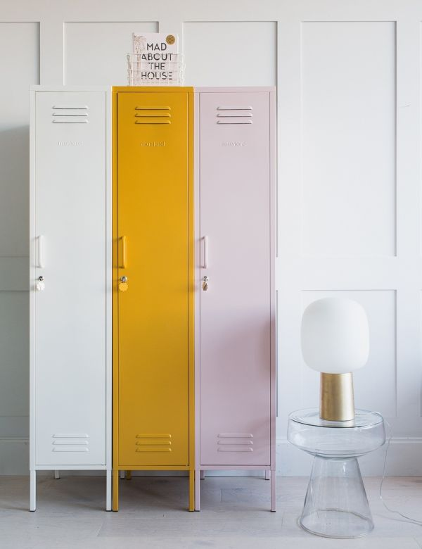 Mustard Made Lockers - The Skinny Tall Locker - White