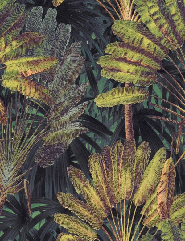 Mind The Gap Wallpaper Collection - Traveller's Palm Sunset