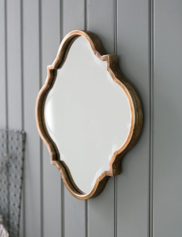Wave Edged Mirror