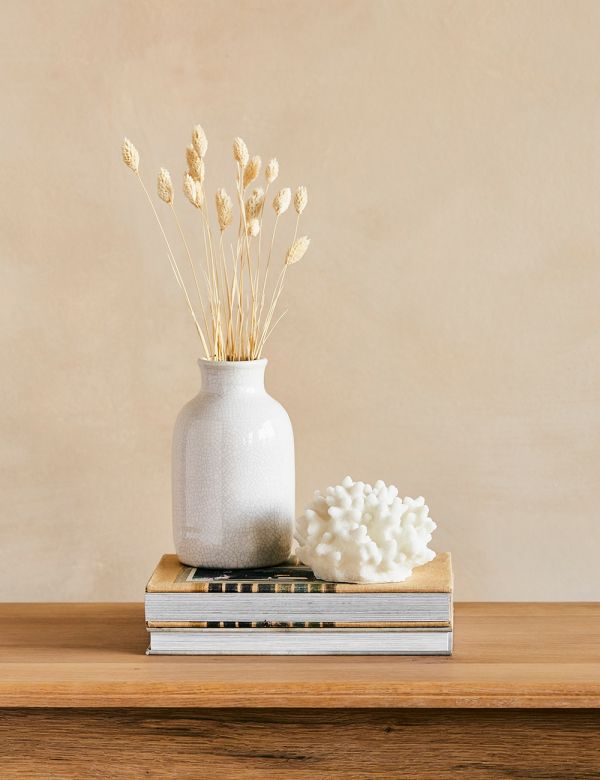 White Sandstone Coral Table Lamp