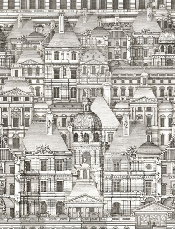 Mind The Gap Wallpaper Collection - Louvre