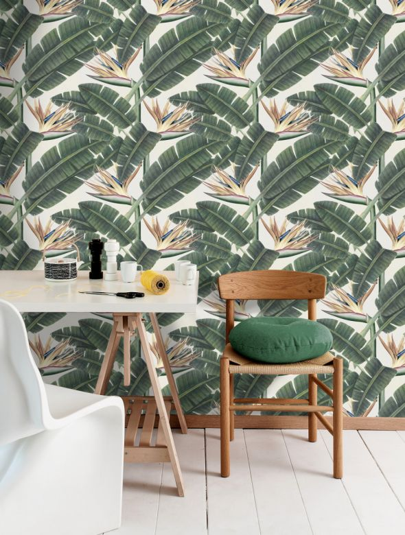 Mind The Gap Wallpaper Collection - Tropical Bloom