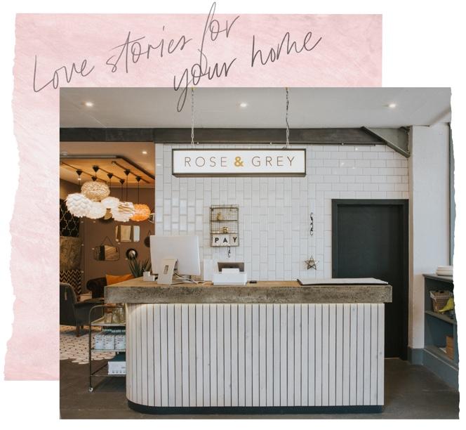 Rose & Grey Shop - Reception Area