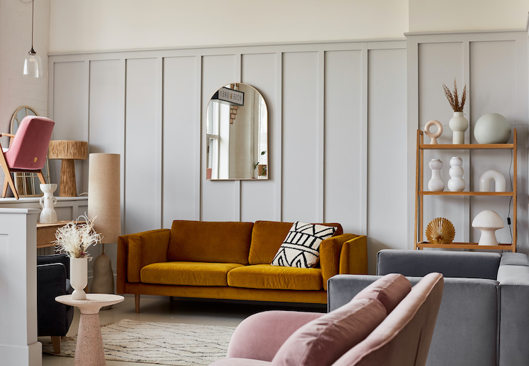 Rose & Grey Showroom - Snuggle Furniture Collection